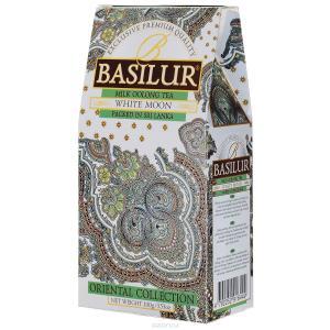 Чай зеленый Basilur White Moon 100г