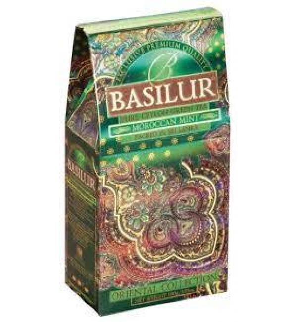 Чай зеленый Basilur Moroccan Mint 100г