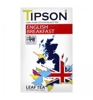 Чай черный Tipson English Breakfast 100г