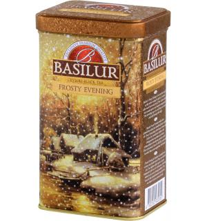 Чай черный Basilur Festival Морозный вечер 85г (ЖБ)