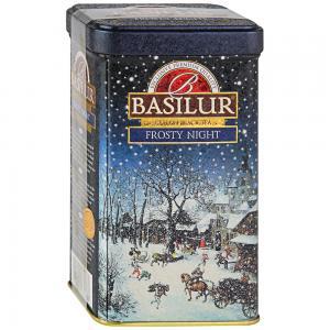Чай черный Basilur Festival Морозная ночь 85г (ЖБ)