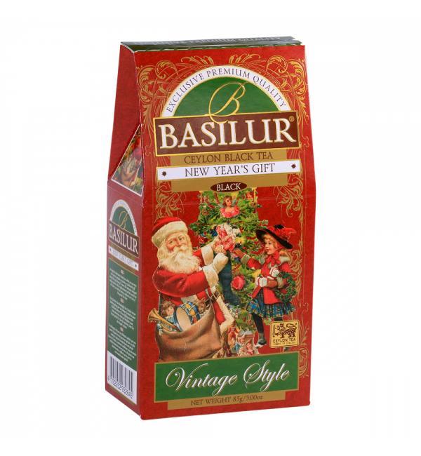 Чай черный Basilur Vintage style Новогодний подарок 85г