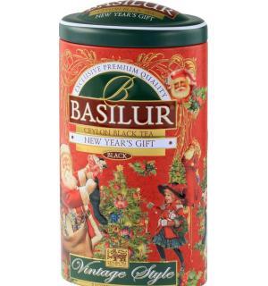 Чай черный Basilur Vintage style 100г (ЖБ)