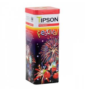 Чай черный Tipson Festival Raspberry 75г