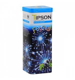 Чай черный Tipson Festival Blackcurrant 75г