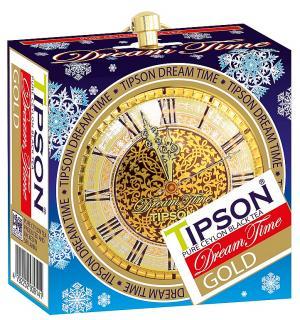 Чай черный Tipson Dream Time Gold 30г (ЖБ)