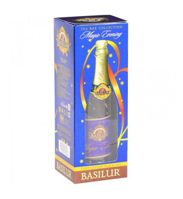 Чай черный Basilur Tea Bar Волшебный вечер 65г (ст. банка)