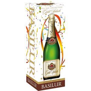Чай зеленый Basilur Золотая сенсация 65г (ст. банка)
