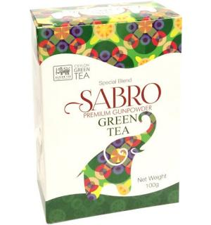 Чай зеленый Sabro Green Tea 100г
