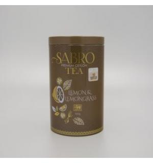 Чай зеленый Sabro Lemon&Lemongrass 100г