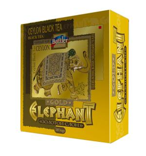 Чай черный Battler Gold Elephant 200г (100пак.)