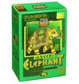 Чай зеленый Battler Green Elephant 100г