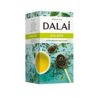 Чай зеленый Dalai Oolong 45г (25пак.)