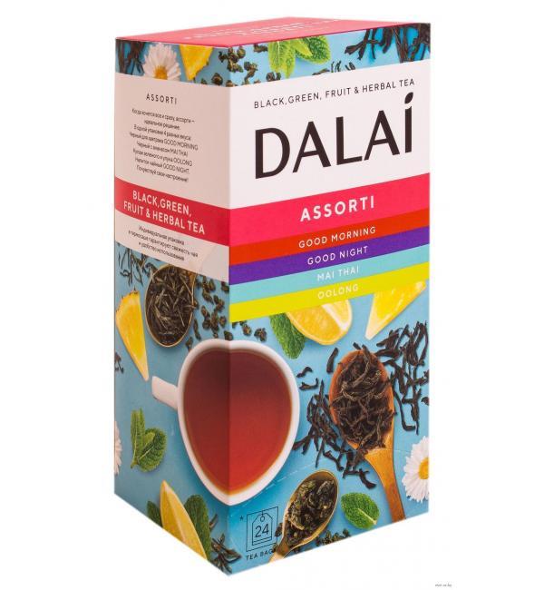 Чай Dalai Assorti №1 39,6г (24 пак.)