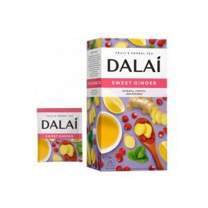 Чай  травяной Dalai Sweet Ginger 30г (25пак.)