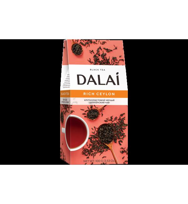 Чай черный Dalai Rich Ceylon 100г
