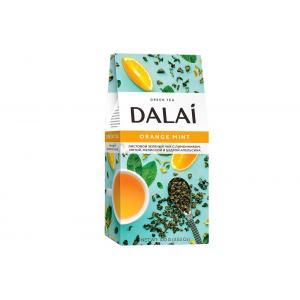 Чай зеленый Dalai Orange Mint 100г