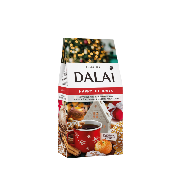 Чай черный Dalai Happy Holidays 70г