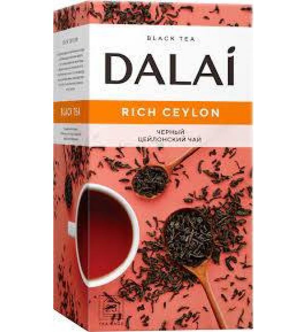 Чай черный Dalai Rich Ceylon 45г (25 пак.)