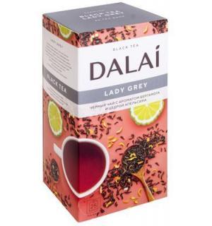 Чай черный Dalai Lady Grey 50г (25 пак.)
