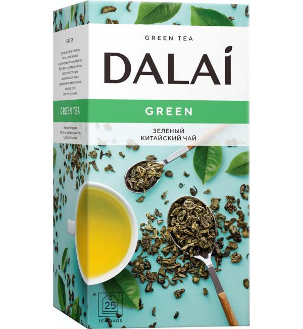 Чай зеленый Dalai Green 45г (25пак.)