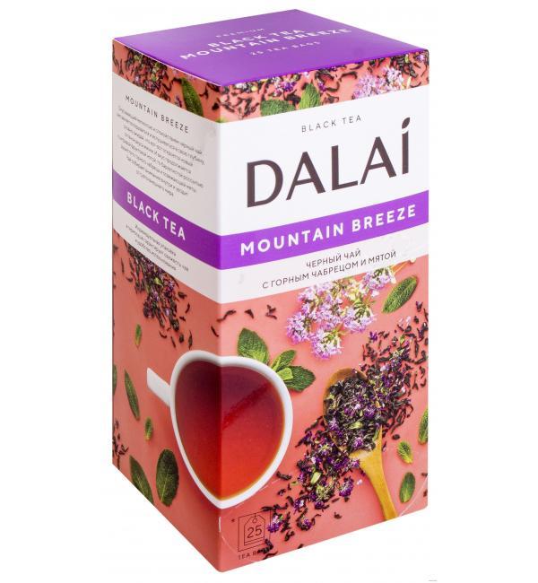 Чай черный Dalai Mountain Breeze 37,5г (25 пак.)