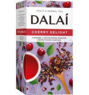 Чай Красный Dalai Cherry Delight 50г (25 пак.)