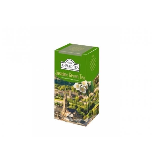Чай зеленый Ahmad Tea Jasmine Green Tea 50г (25 пак.)
