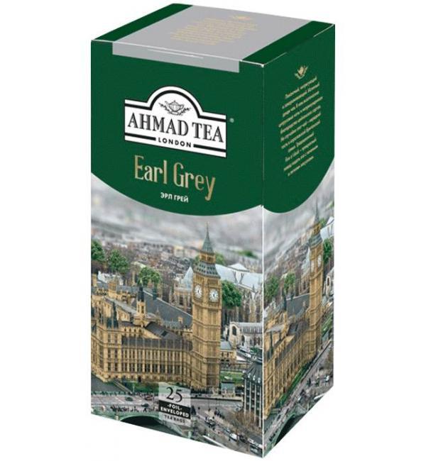 Чай черный Ahmad Tea Earl Grey 50г (25 пак.)