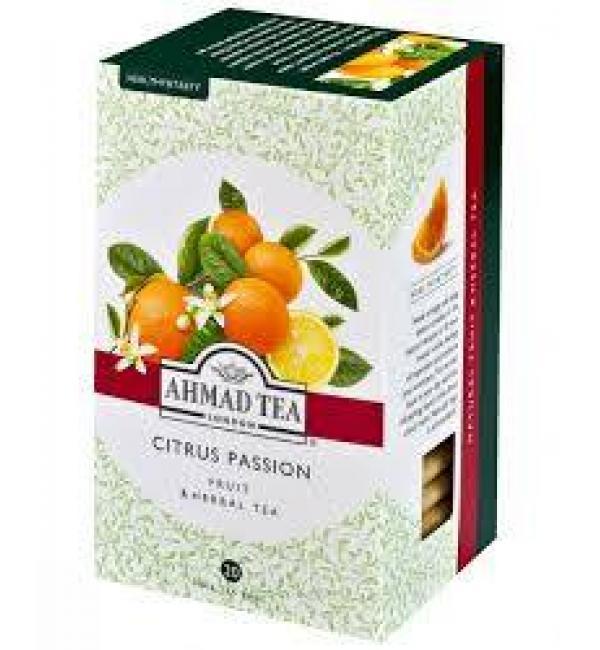 Чай Красный Ahmad Tea Citrus Passion 40г (20 пак.)