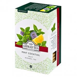 Чай Травяной Ahmad Tea Mint Cocktail 30г (20 пак.)