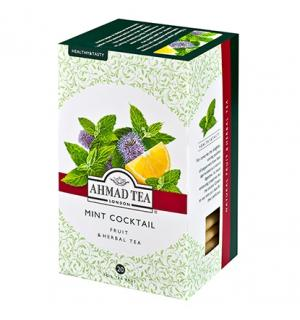 Чай Травяной Ahmad Tea Mint Cocktail 30г (20 пак.)