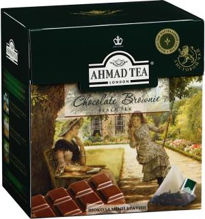 Чай черный Ahmad Tea Chocolate Brownie 36г (20пак.)