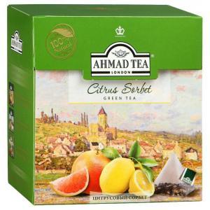 Чай зеленый Ahmad Tea Citrus Sorbet 36г (20пак.)