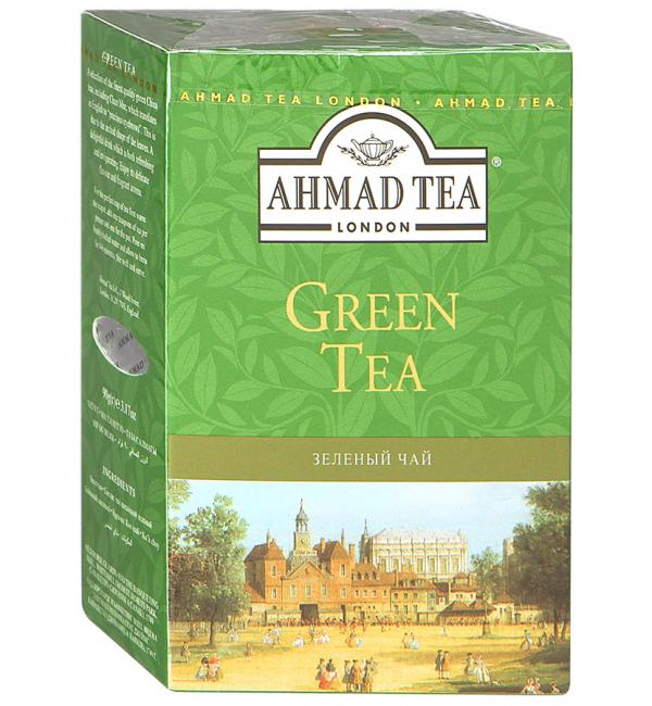 Чай зеленый Ahmad Tea Green 100г