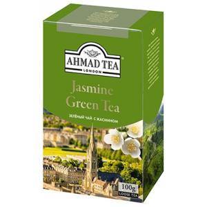 Чай зеленый Ahmad Tea Jasmine Green Tea 100г