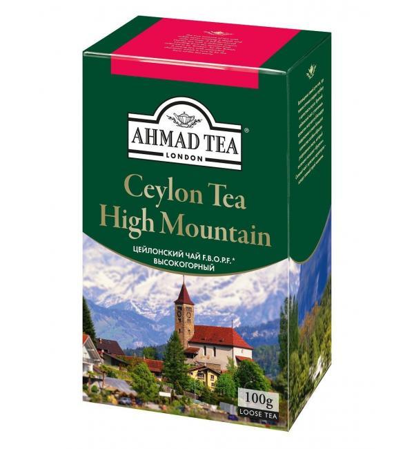 Чай черный Ahmad Tea Ceylon Tea F.B.O.P.F. 100г