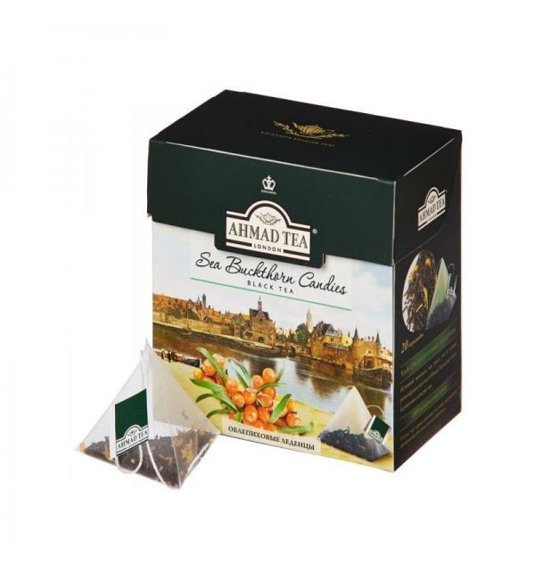 Чай черный Ahmad Tea Sea Buckthorn Candies 36г (20пак.)