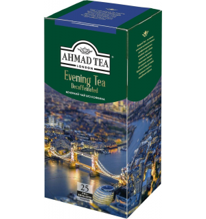 Чай черный Ahmad Tea Decaffeinated 45г (25 пак.)