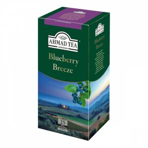 Чай зеленый Ahmad Tea Blueberry Breeze 45г (25 пак.)