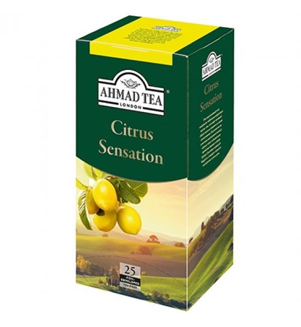 Чай черный Ahmad Tea Citrus Sensation 45г (25 пак.)