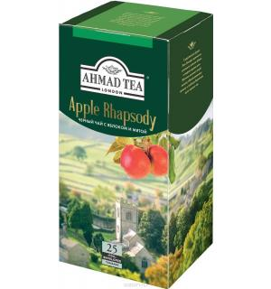 Чай черный Ahmad Tea Apple Rhapsody 37,5г (25 пак.)