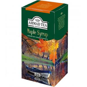 Чай зеленый Ahmad Tea Maple Syrup 37,5г (25 пак.)