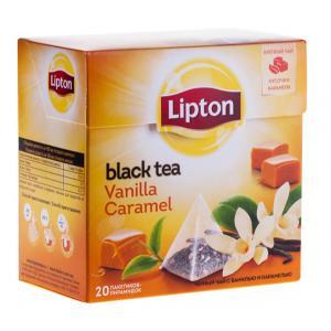 Чай черный Lipton Vanilla Caramel 34г (20 пак.)