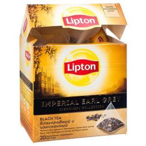 Чай черный Lipton Imperial Earl Grey 36г (20 пак.)