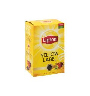 Чай черный Lipton Yellow Label 100г