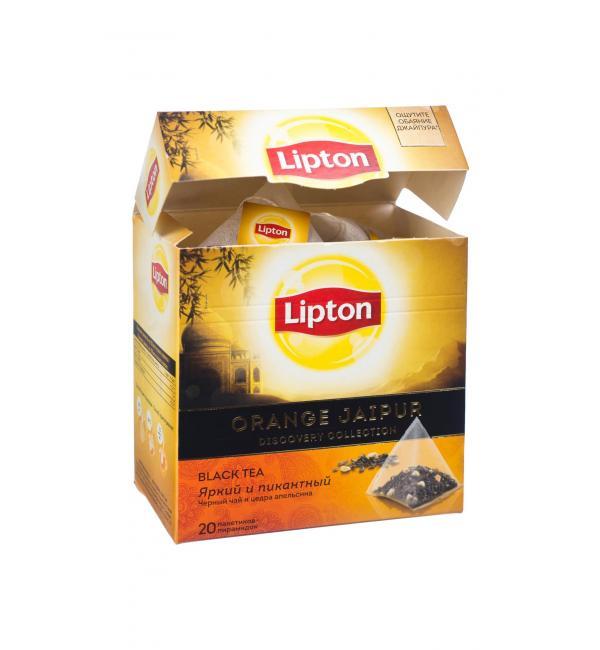 Чай черный Lipton Orange Jaipur 38г (20 пак.)