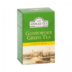 Чай зеленый Ahmad Tea Gunpowder Tea 100г