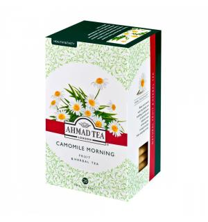 Чай Травяной Ahmad Tea Camomile Morning 30г (20 пак.)