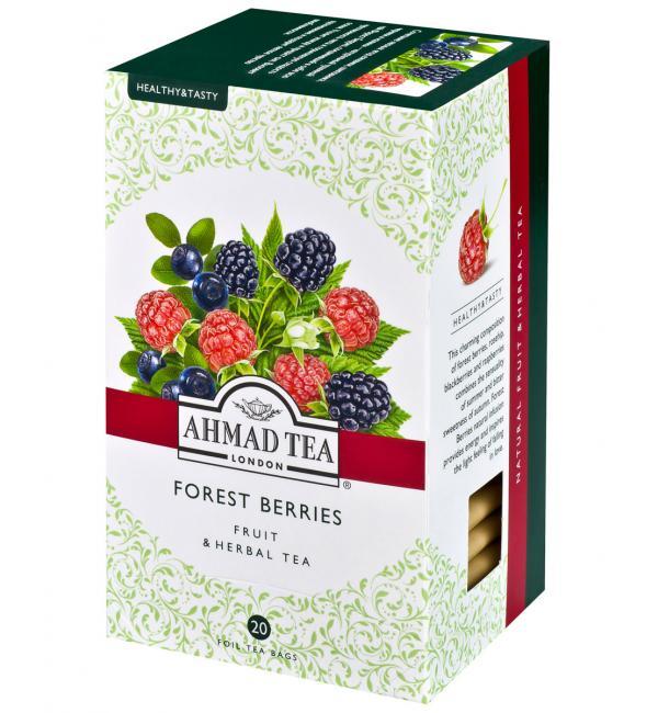Чай Красный Ahmad Tea Forest Berries 40г (20 пак.)